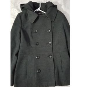 Winter Gray Pea Coat☻